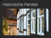 Historische Holzfenster